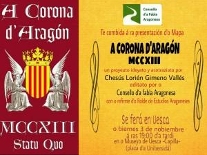 Mapa La Corona de Aragón