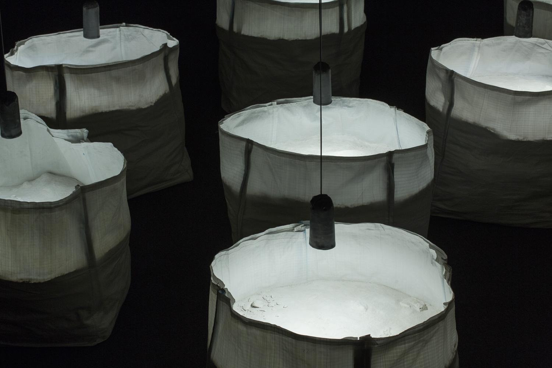 """Detalle de la obra """"límites"""" Fotografía: J. Garrido"""