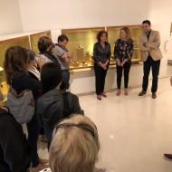 Presentación vitrinas Edad del Hierro. Foto: archivo MdH