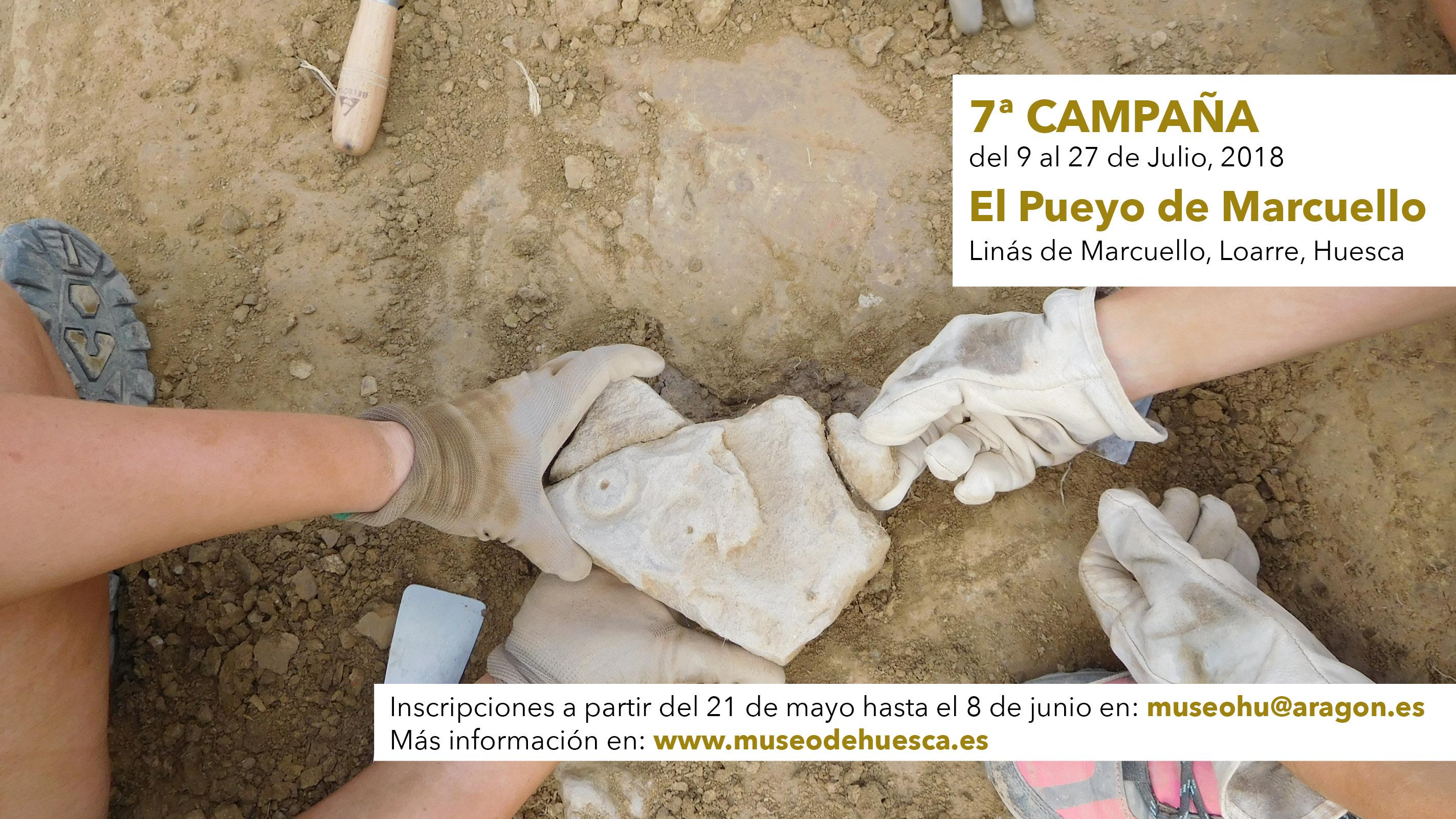 7ª Campaña: Excavaciones arqueológicas en el yacimiento de la Edad del Hierro de Marcuello