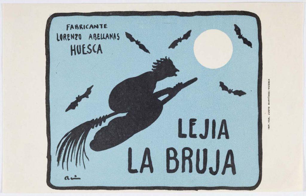 Lejía La bruja. Ramón Acín. NIG 05090