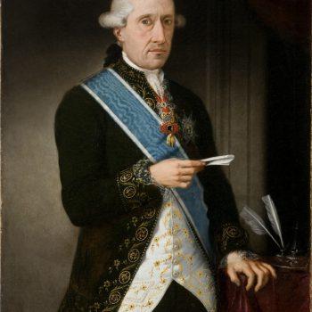 Conde de Floridablanca. Autor anónimo. NIG 00053. Foto Fernando Alvira. Museo de Huesca.