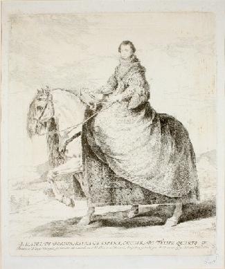 Doña Isabel de Borbón, Reina de España, mujer de Felipe IV. NIG. 01981 © Foto: Fernando Alvira. Museo de Huesca