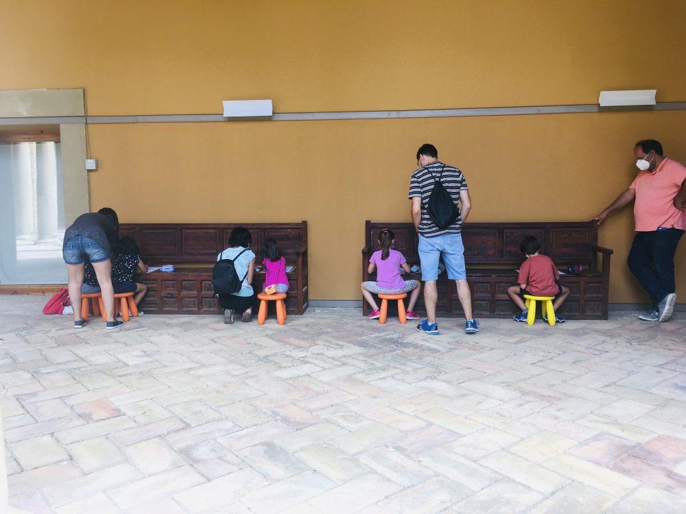 Monstruo bueno del museo. Talleres familias verano 2020.